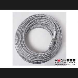 Jeep Wrangler JL Winch Replacement Steel Cable - 5/16 in. x 94 ft. - 8,500 lb.