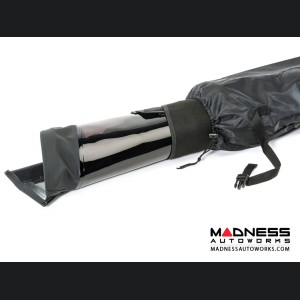 Jeep Wrangler JKU Window Storage Sport Bar Bag - Black