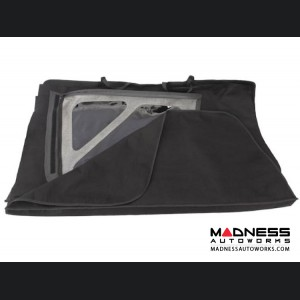 Jeep Wrangler JK Window Storage Sport Bar Bag - Black