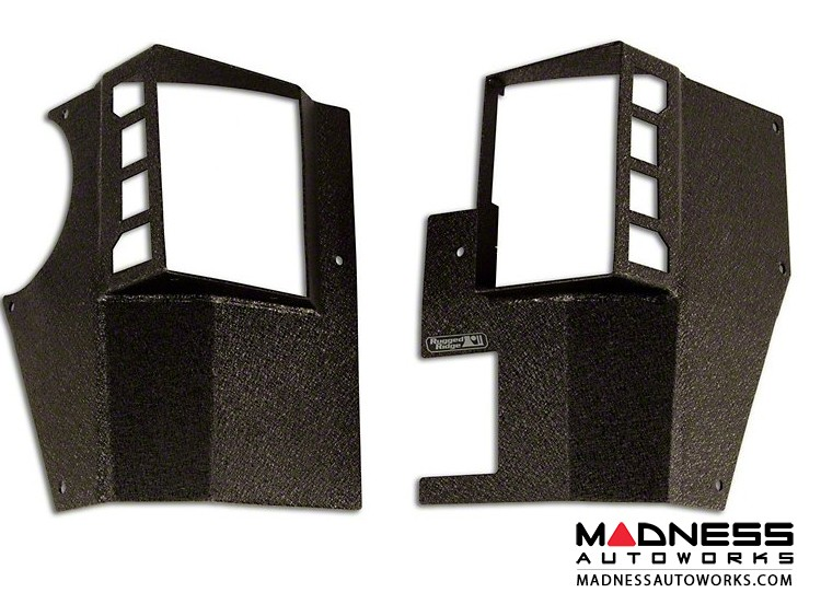 Jeep Wrangler JK XHD Rear Corner Guards - 2 Door