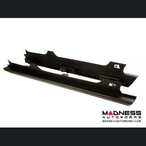 Jeep Wrangler JL XHD Rock Sliders - Black Steel - 4 Door