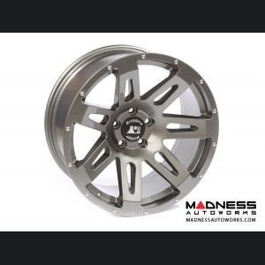 "Jeep Wrangler JK Aluminum XHD Wheel - 20x9"" - Gun Metal Powder Coat Finish"