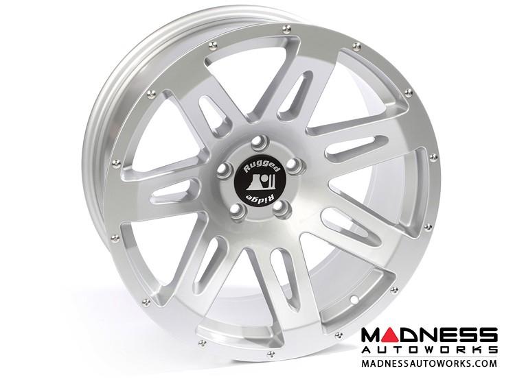 "Jeep Gladiator Aluminum XHD Wheel - 20x9"" - Silver Powder Coat Finish"