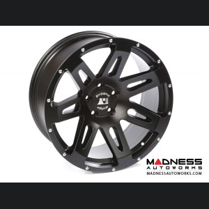 "Jeep Wrangler JK Aluminum XHD Wheel - 20x9"" - Satin Black"