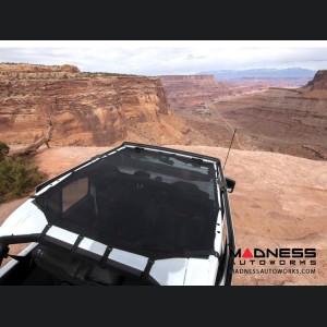Jeep Wrangler JL Eclipse Sun Shade - Black - Full - 4 Door