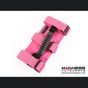 Jeep Gladiator Ultimate Grab Handle Kit - Pink