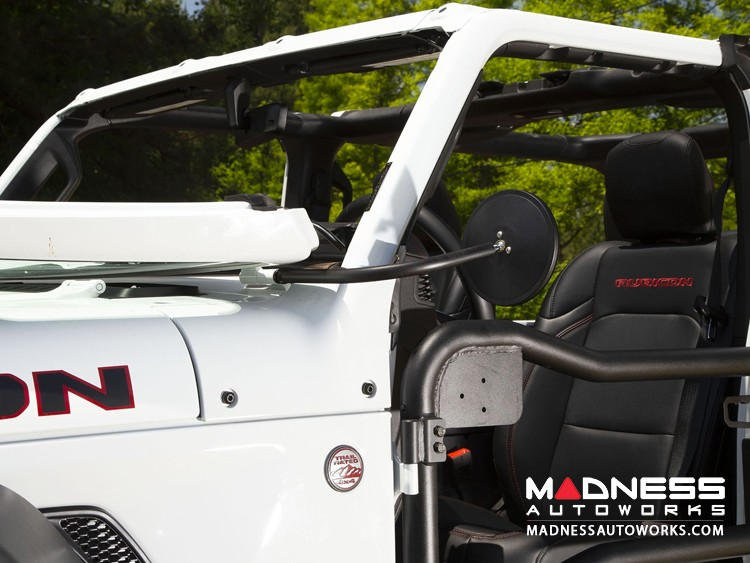 Jeep Gladiator JT Round Trail Mirror Kit - Pair