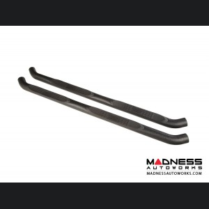 Jeep Wrangler JL Black Round Side Steps - 4 Door - 3""