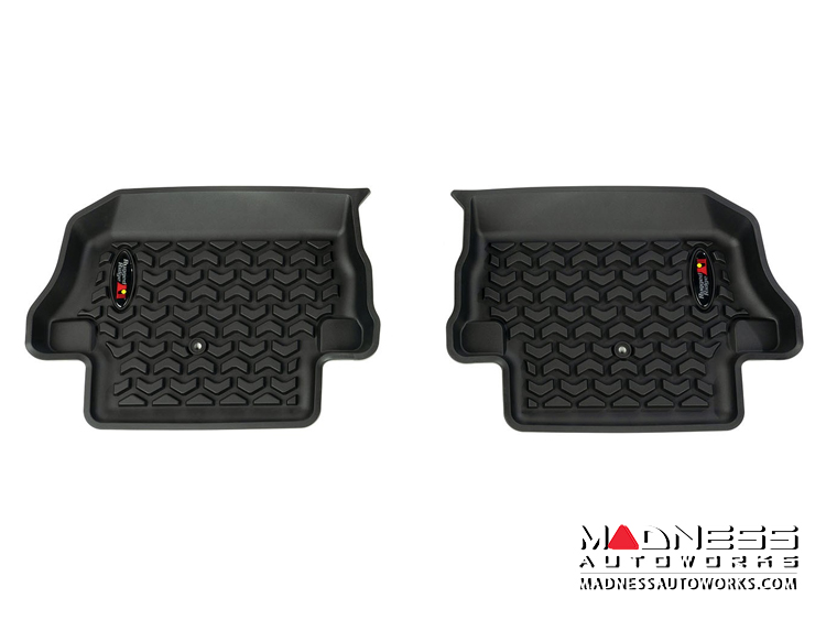 Jeep Wrangler JL Floor Liner - Rear - Black - 2 Door