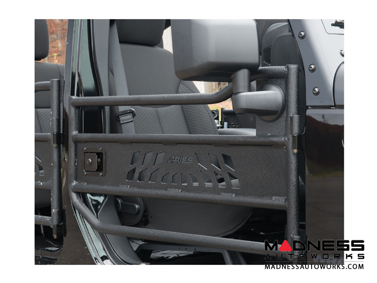 Jeep Wrangler JL Aries Tube Doors - Front