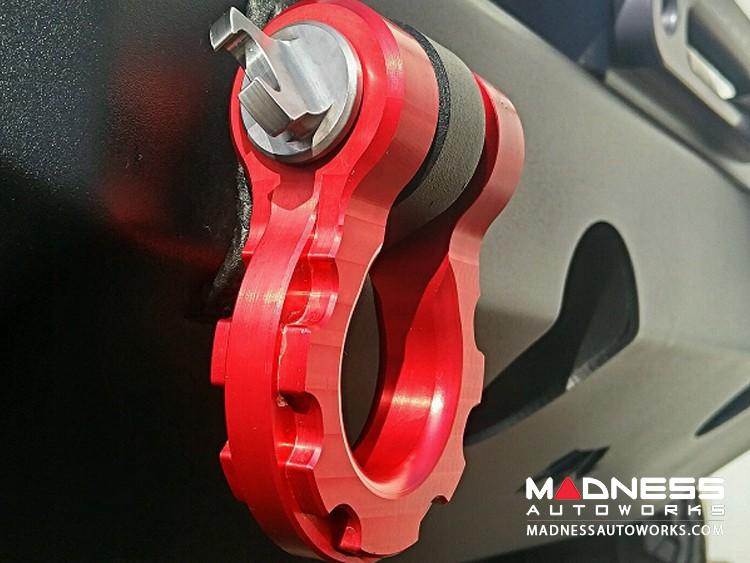 Jeep Wrangler JL Billet D-Ring Shackles