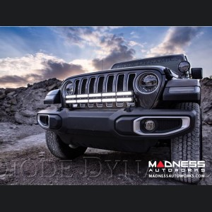 Jeep Wrangler JL Bumper LED Light Bar Kit - Bracket Only