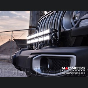 "Jeep Wrangler JL Bumper LED Light Bar Kit - Two 30"" Light Bars"