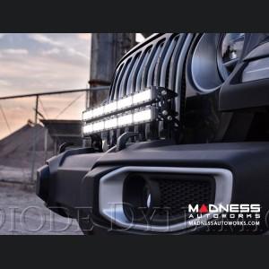 "Jeep Wrangler JL Bumper LED Light Bar Kit - Two 30"" Light Bars"