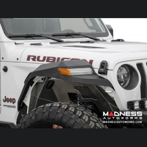 Jeep Wrangler JL Front Inner Fender Liners - Rock Fighter