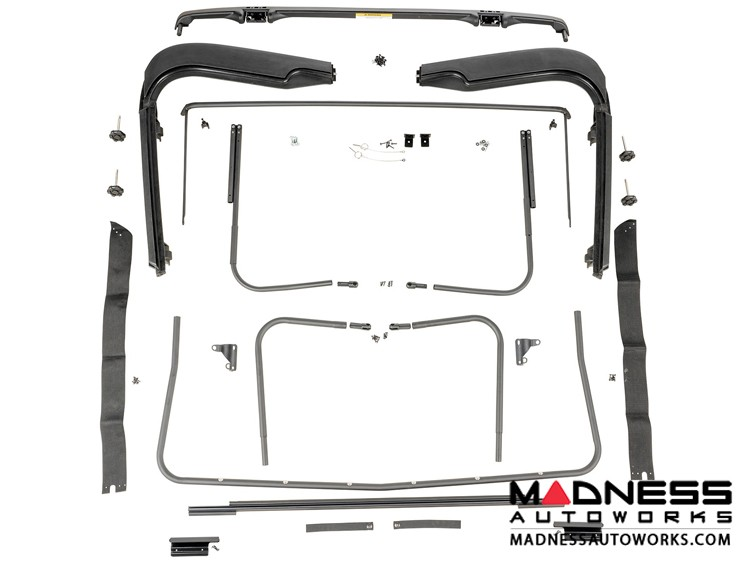 Jeep Wrangler TJ Factory Soft Top Hardware