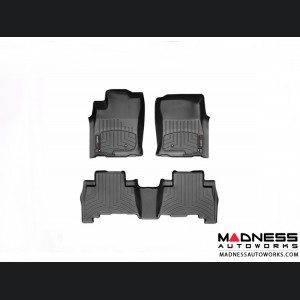 Jeep Wrangler JL Floor Liners - All Weather - DigitalFit - Front
