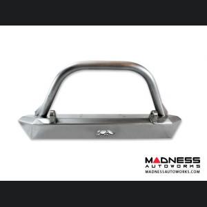 Jeep Wrangler JK Front Skinny Bumper w/ Tabs + Hoop by ATP