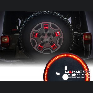 Jeep Wrangler JK Spare Tire Light