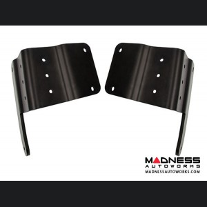 Jeep Wrangler JL Hood Mount Bracket - Powder-Coated