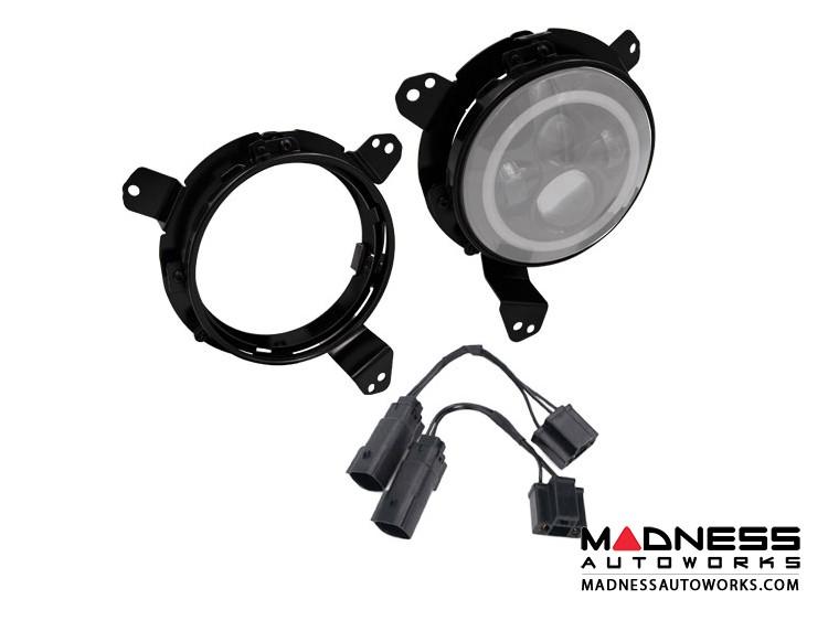 "Jeep Wrangler JL Headlight Adapter - 7"""