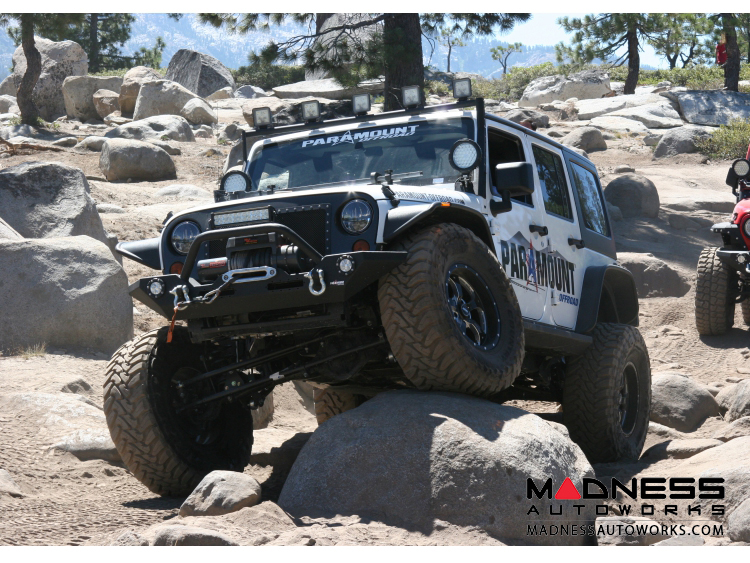 "jeep - jeep wrangler jk suspension system - stage 3 - 4.5"" lift"