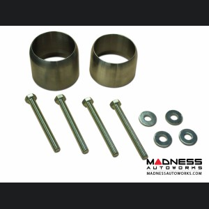 Jeep Wrangler JK Exhaust Extension Spacer Kit