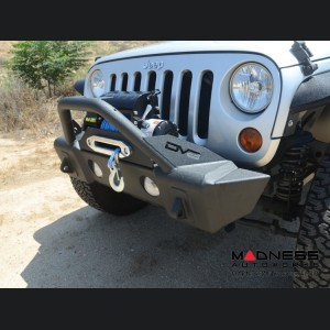 Jeep Wrangler JL Hammer Forged Bumper W/Fog Light Provisions - Front - FS-13
