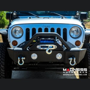 Jeep Wrangler JK Hammer Forged Bumper W/Fog Light Provisions - Front - FS-13