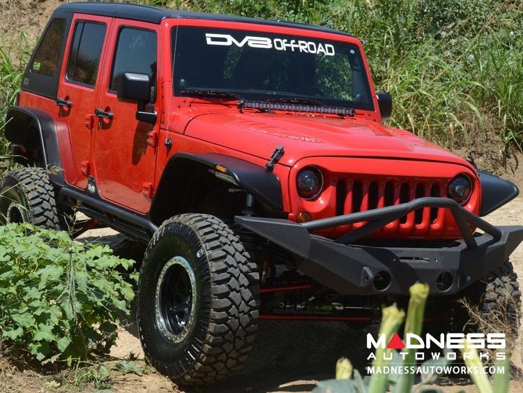 Jeep Wrangler JK Off-Road Front Bumper - Mid Width - Steel - FS-10