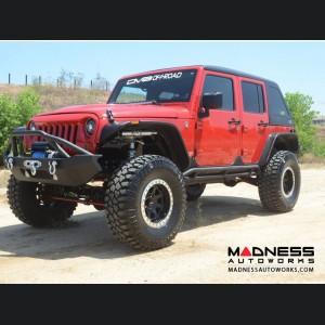 Jeep Wrangler JK Front Bumper - Mid Width - Steel - FS-14