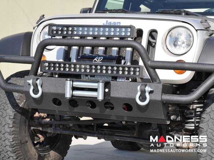 Jeep Wrangler JK Off-Road Front Bumper - Mid Width - Steel - FS-2