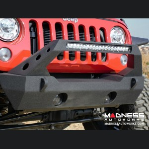 Jeep Wrangler JK FS-25 Stubby Bumper - Satin Black finish - Rear