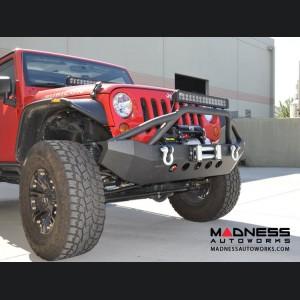 Jeep Wrangler JK Front Bumper - Mid Width - Steel - FS-6