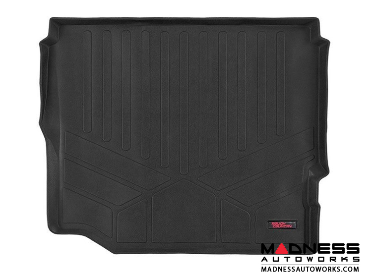 Jeep Wrangler JL Unlimited Heavy Duty Fitted Cargo Liner w/o Factory Subwoofer