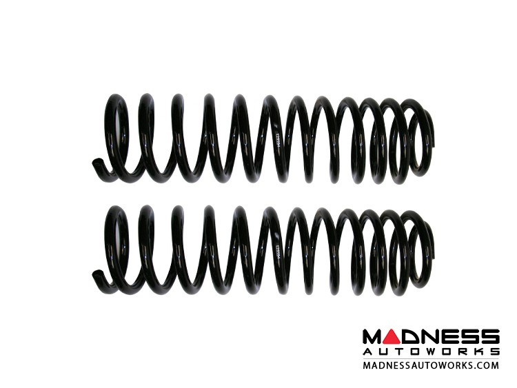 """Jeep Wrangler JK Dual Rate Springs - Front - 4"""""""