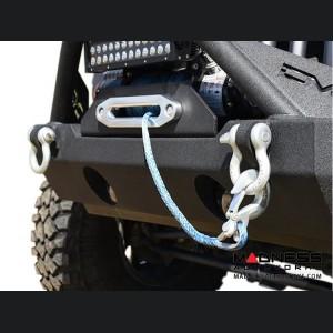 Jeep Wrangler JK Hammer Forged Bumper - Front - FS-15