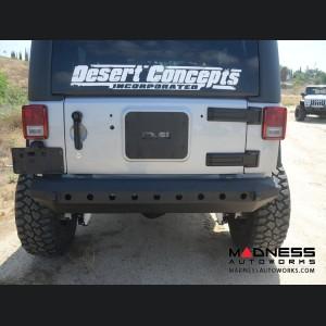 Jeep Wrangler JK Stubby Rear Bumper - Mid Width - Steel - FS-15