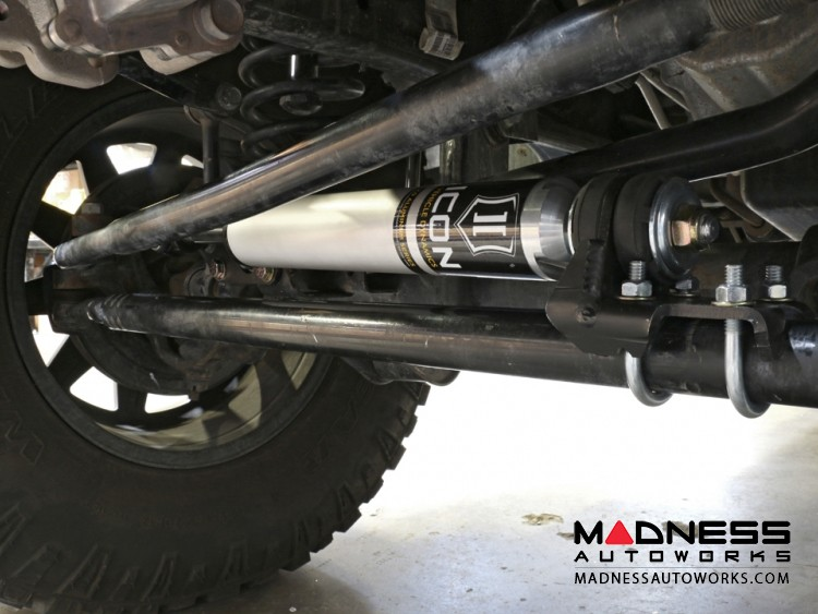 Jeep Wrangler JK 2.0 High Clearance Steering Stabilizer System - Aluminum