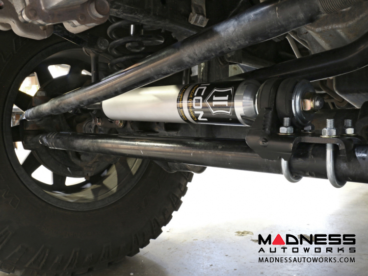 Jeep Wrangler JK 2 0 High Clearance Steering Stabilizer System - Aluminum
