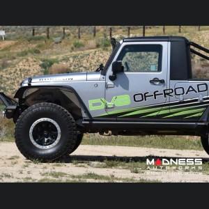 Jeep Wrangler JK Inner Fenders - Aluminum - Rear
