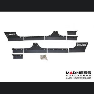 Jeep Wrangler JK Rock Skins - Black