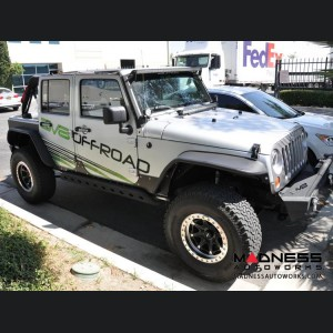 Jeep Wrangler JK Rock Skins - Black
