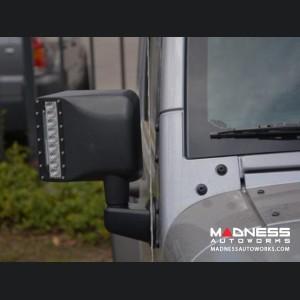 Jeep Wrangler JK LED Mirror Housing w/ Turn signals
