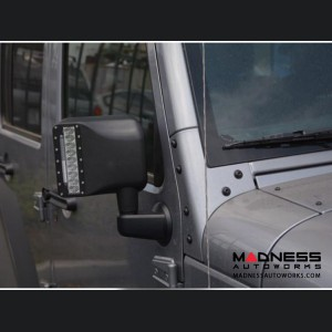 Jeep Wrangler JK LED Mirror Housing w/ Turn signals