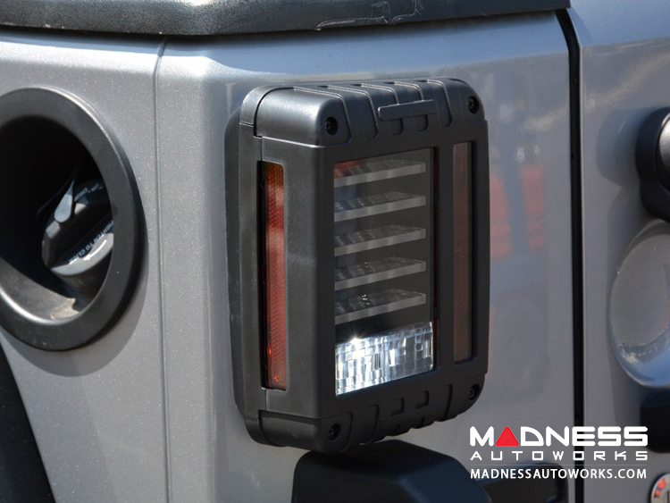 Jeep Wrangler Led Tail Lights >> Jeep Jeep Wrangler Jk Led Tail Lights Madness Autoworks Auto