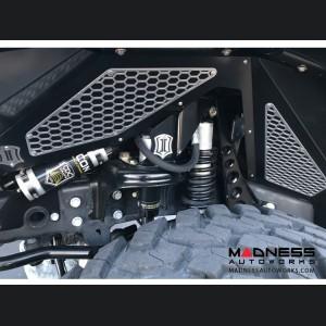 Jeep Wrangler JK Modular Fender Liner Mesh Trim Kit - Aluminum