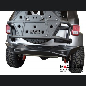 Jeep Wrangler JK Off-Road Rear Bumper - Full Width - Steel - RS-14