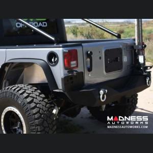 Jeep Wrangler JK Rear Stubby Bumper - Black