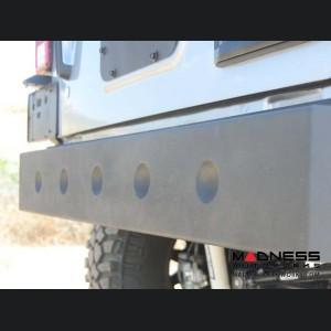 Jeep Wrangler JK Hammer Forged Rear Bumper - Mid Width - Steel - FS-15